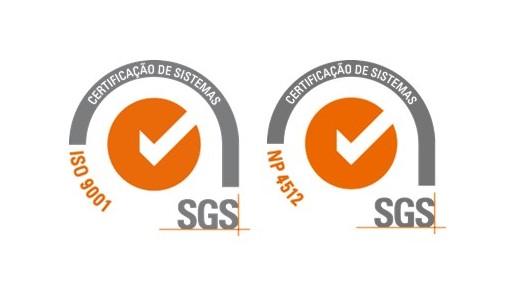 Primeira entidade formadora certificada pela SGS na norma NP4512